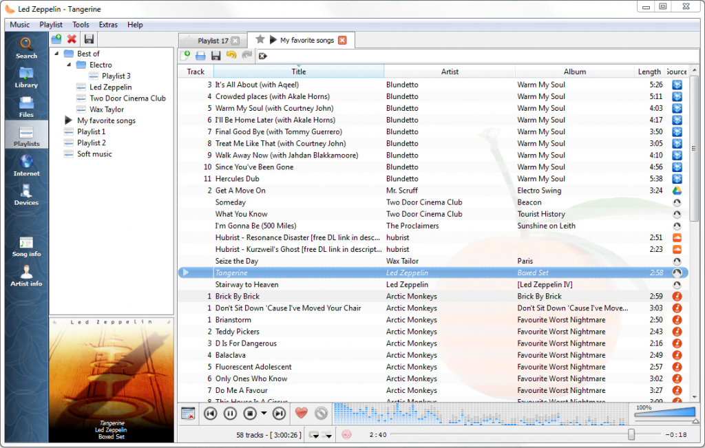 Clementine Music Player crack