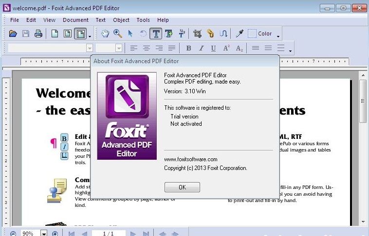 Foxit Advanced PDF Editor Activation Key (Updated)