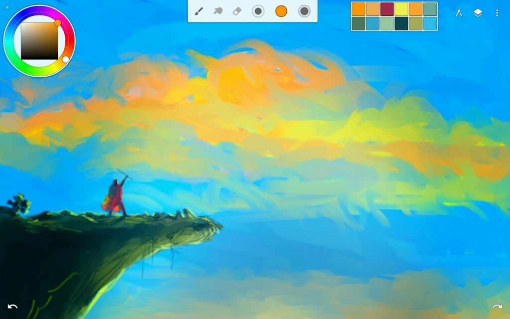 Infinite painter for windows