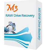 M3 RAW Drive Recovery