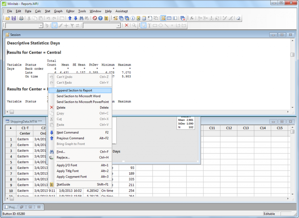 Minitab 17 free download