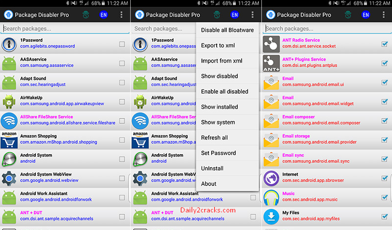 Package Disabler Pro (Samsung) Crack