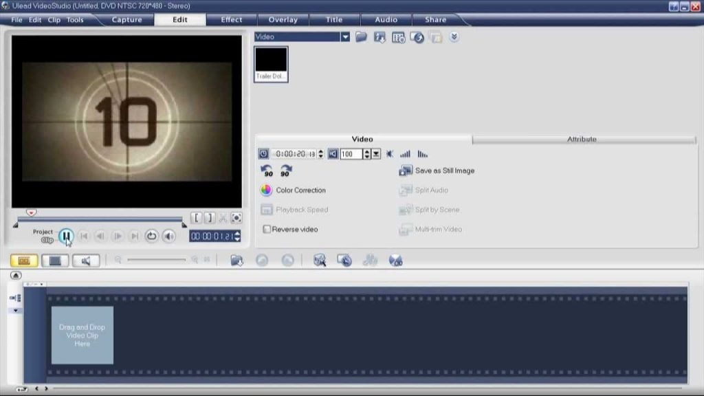 Ulead VideoStudio 11 free download