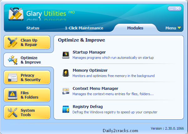 Glary Utilities Pro full version free download