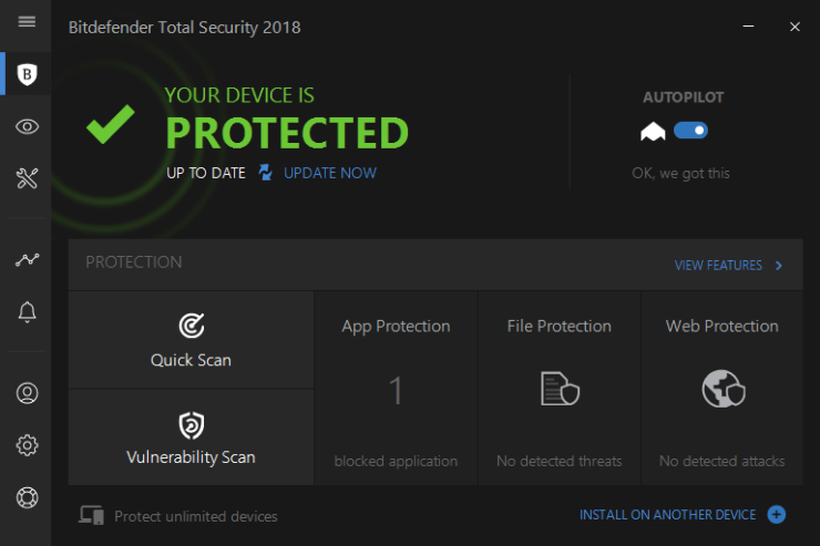 Bitdefender Total Security 2017 download