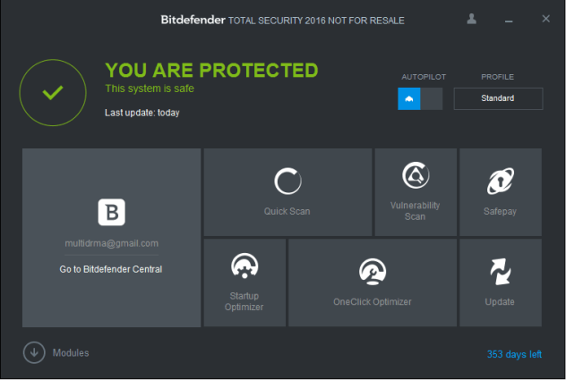 Bitdefender Total Security 2017 full version