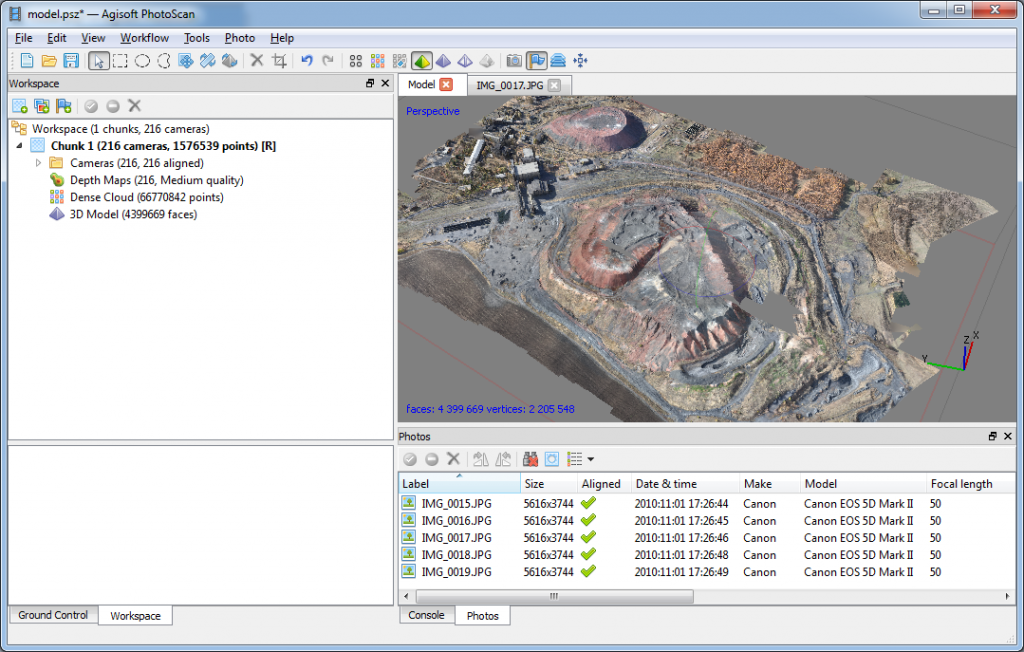 Agisoft PhotoScan Professional download