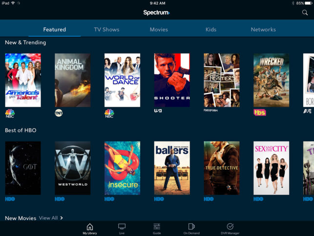 Spectrum TV App for android