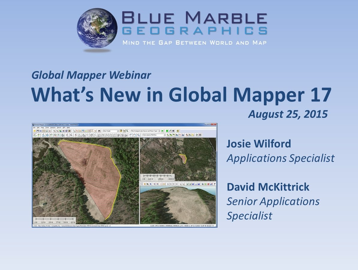 Global Mapper 17